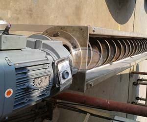 Screw conveyor for Sludge